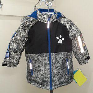 Boy's Paws Patrol Grey Jacket, Age 3 years, NWT
